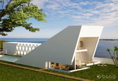 BC - Pyramid House