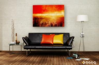 BC - Yellow and orange room