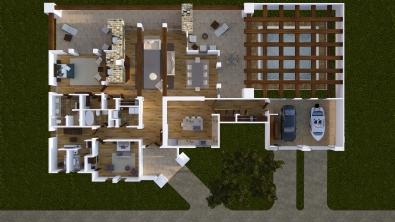 Casa Caribou - Planta
